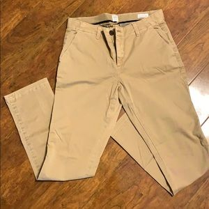 Gap Girlfriend Chino Khaki Pant size 0